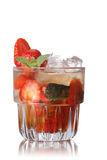 Strawberry mint smash Stock Photography