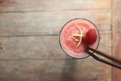 Strawberry mocktail Stock Photo