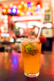 Strawberry mohito Royalty Free Stock Photos