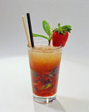Strawberry Mojito Stock Photo