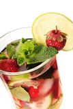 Strawberry mojito Stock Photos