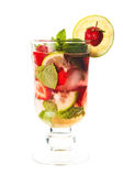 Strawberry mojito Royalty Free Stock Image