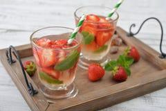 Strawberry mojito Stock Image