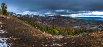 Strawberry Mountains Wilderness Malher National Forest Panorama Stock Photography