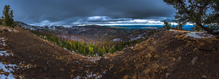 Strawberry Mountains Wilderness Malher National Forest Panorama Stock Photos