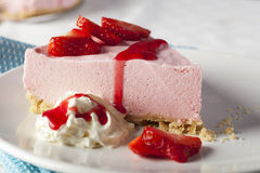 Strawberry Mousse Royalty Free Stock Photos