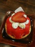 Strawberry mousse cake Stock Image