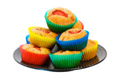 Strawberry Muffin Cup Cakes Stock Photography