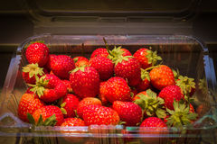 Strawberry number 80 Stock Images