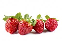 Free Strawberry On The White Background Royalty Free Stock Image - 108031906