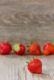 Strawberry, opy space Royalty Free Stock Photo