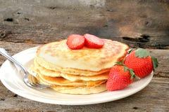 Strawberry Pancakes Stock Image