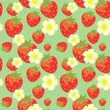 Strawberry pattern Stock Photo