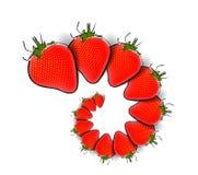 Strawberry Pattern Royalty Free Stock Image