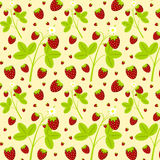 Strawberry pattern Royalty Free Stock Photography