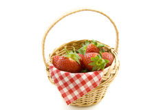 Strawberry picnic Royalty Free Stock Image