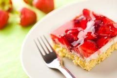 Strawberry pie Stock Image
