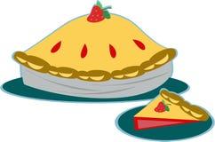 Strawberry Pie Royalty Free Stock Image
