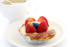 Strawberry pie Royalty Free Stock Photography