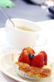 Strawberry pie Stock Photos