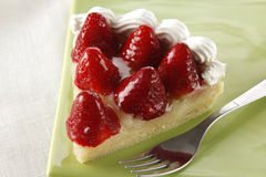 Strawberry pie Royalty Free Stock Image