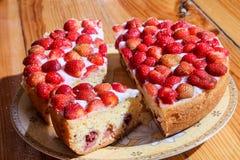 Strawberry pie Royalty Free Stock Photo