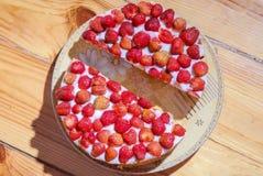 Strawberry pie Royalty Free Stock Photos