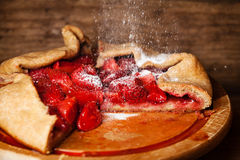 Strawberry pie Royalty Free Stock Images