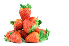 Strawberry pile Stock Photos