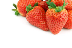 Strawberry pile Stock Photography