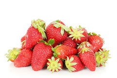 Strawberry pile Stock Images