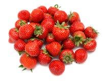 Strawberry pile Stock Photo