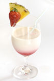 Strawberry Pina Colada Royalty Free Stock Images