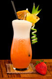 Strawberry pina colada Stock Photography
