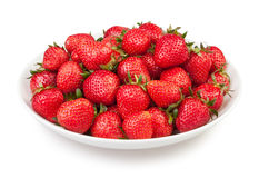 Free Strawberry Plate Stock Photography - 31171312
