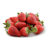 Strawberry in a plate Stock Photography