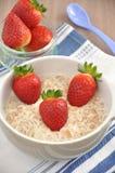Strawberry Porridge Stock Photography