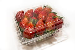 Strawberry Punnet Stock Photography