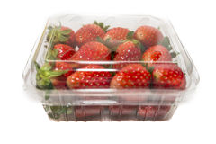 Strawberry Punnet Royalty Free Stock Photography