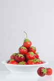 Strawberry pyramid Royalty Free Stock Photo