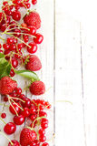 Strawberry raspberry berries Royalty Free Stock Photography