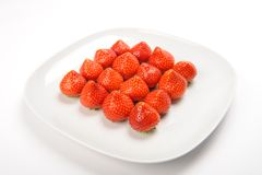 Strawberry rectangle Royalty Free Stock Photo