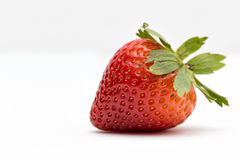 The Strawberry. The red and delicious fruit Stock Image