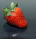 Strawberry. Red Strawberry with a reflection Royalty Free Stock Photos