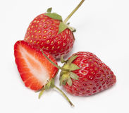 Strawberry  ,refreshment Royalty Free Stock Images