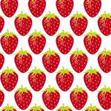 Strawberry repeatable seamless pattern Royalty Free Stock Photography