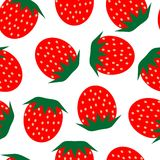 Strawberry repetition Royalty Free Stock Image