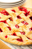 Strawberry Rhubarb Pie Royalty Free Stock Image