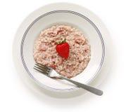 Strawberry risotto Stock Image