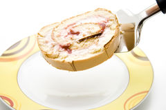 Strawberry role Stock Images